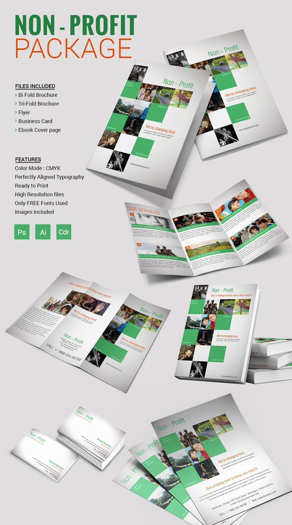 Bi Fold Brochure Template Word Mughals