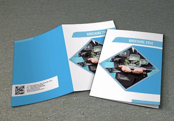 Bi Fold Business Brochure V16 Brochure Templates On