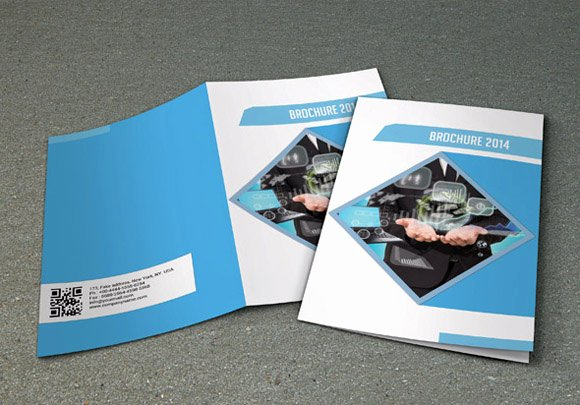 Bi Fold Business Brochure V16 Brochure Templates On
