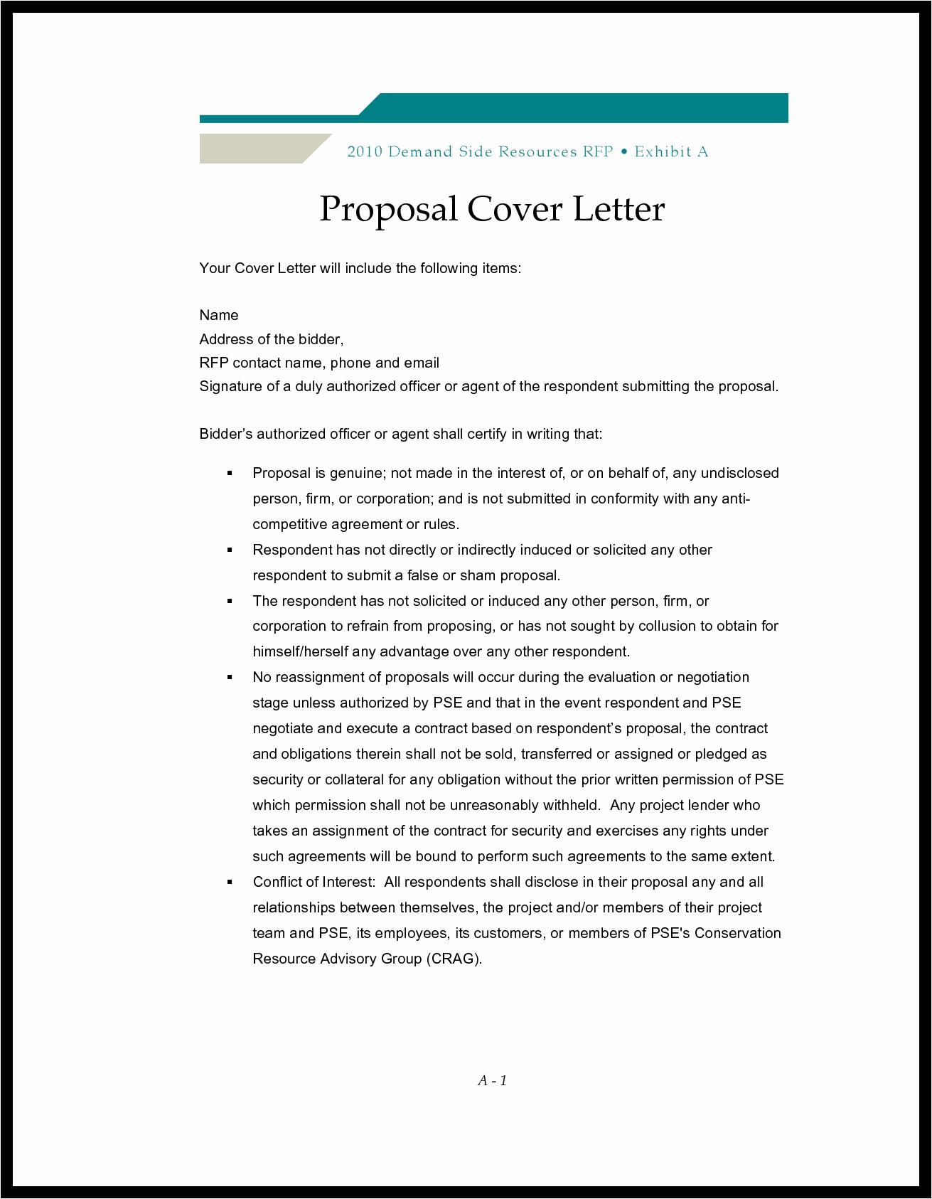 Bid Proposal Letter Mughals