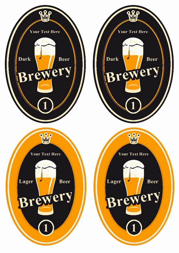 Bier Label Ontwerp