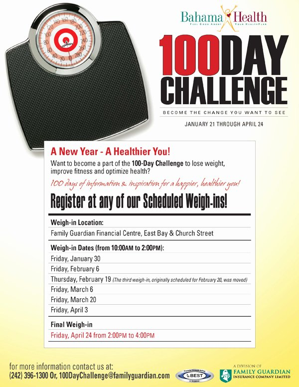 Biggest Loser Flyer Template