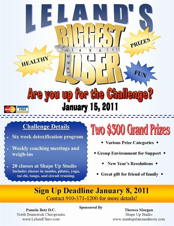 Biggest Loser north Brunswick Chiropractic and Acupuncture