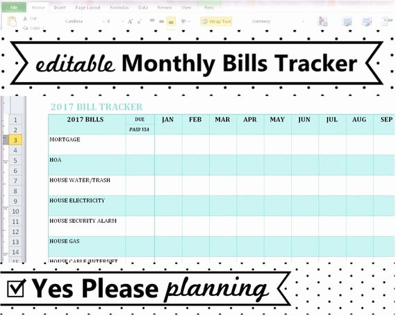 Bill organizer Template Excel 11 Secrets About Bill