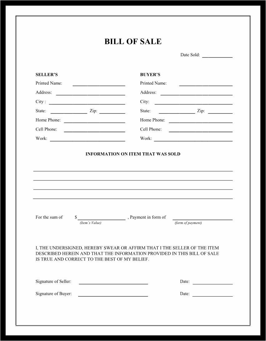 Bill Sale Sample Document Mughals
