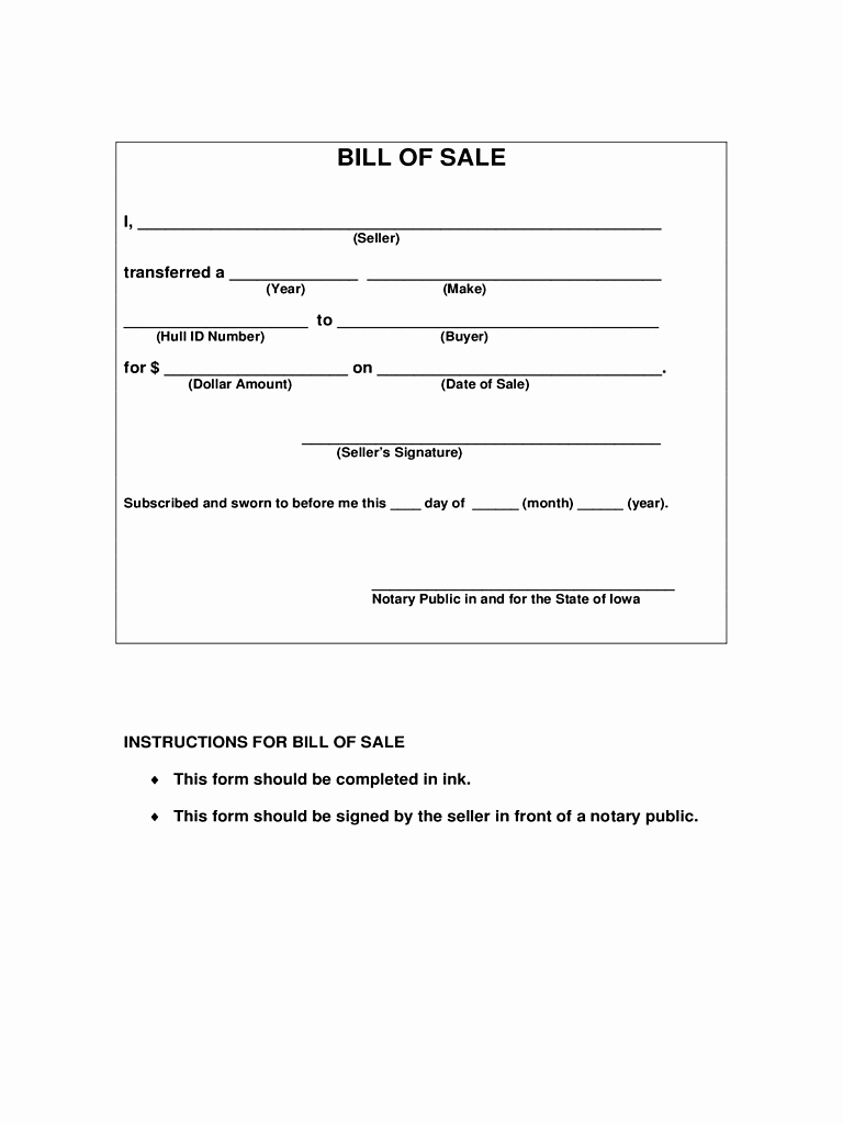 Bill Sale Template Word Example Mughals