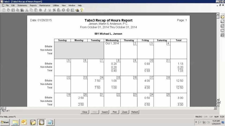 Billable Hours Spreadsheet Excel forracking Consultant