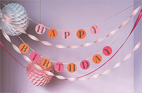 Birthday Banner Template – 23 Free Psd Eps In Design