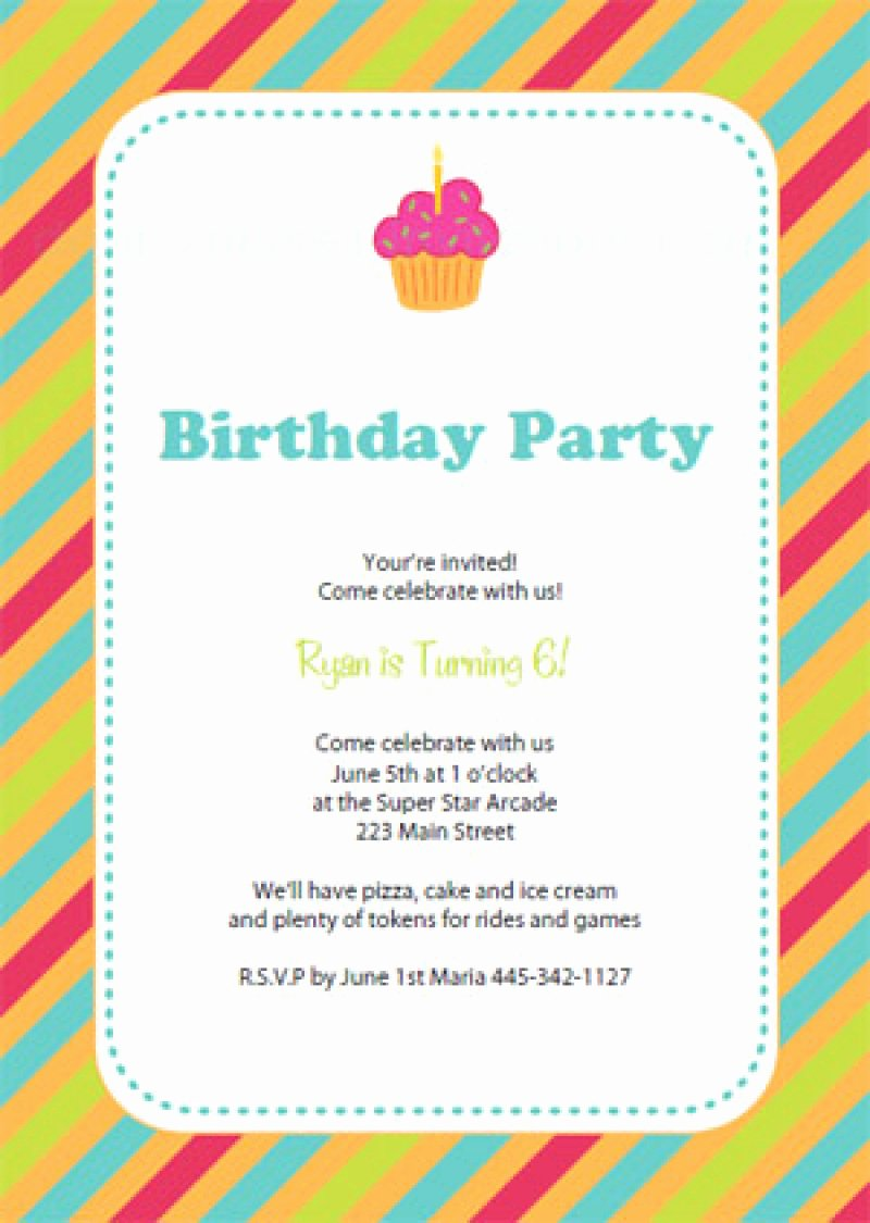 Birthday Celebration Invitation Template – orderecigsjuice