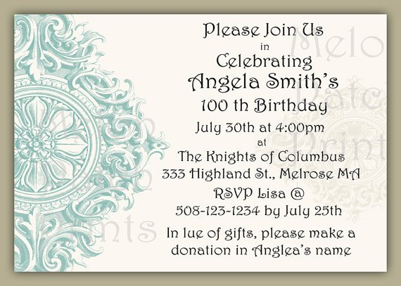 Birthday Dinner Party Invitations Wording