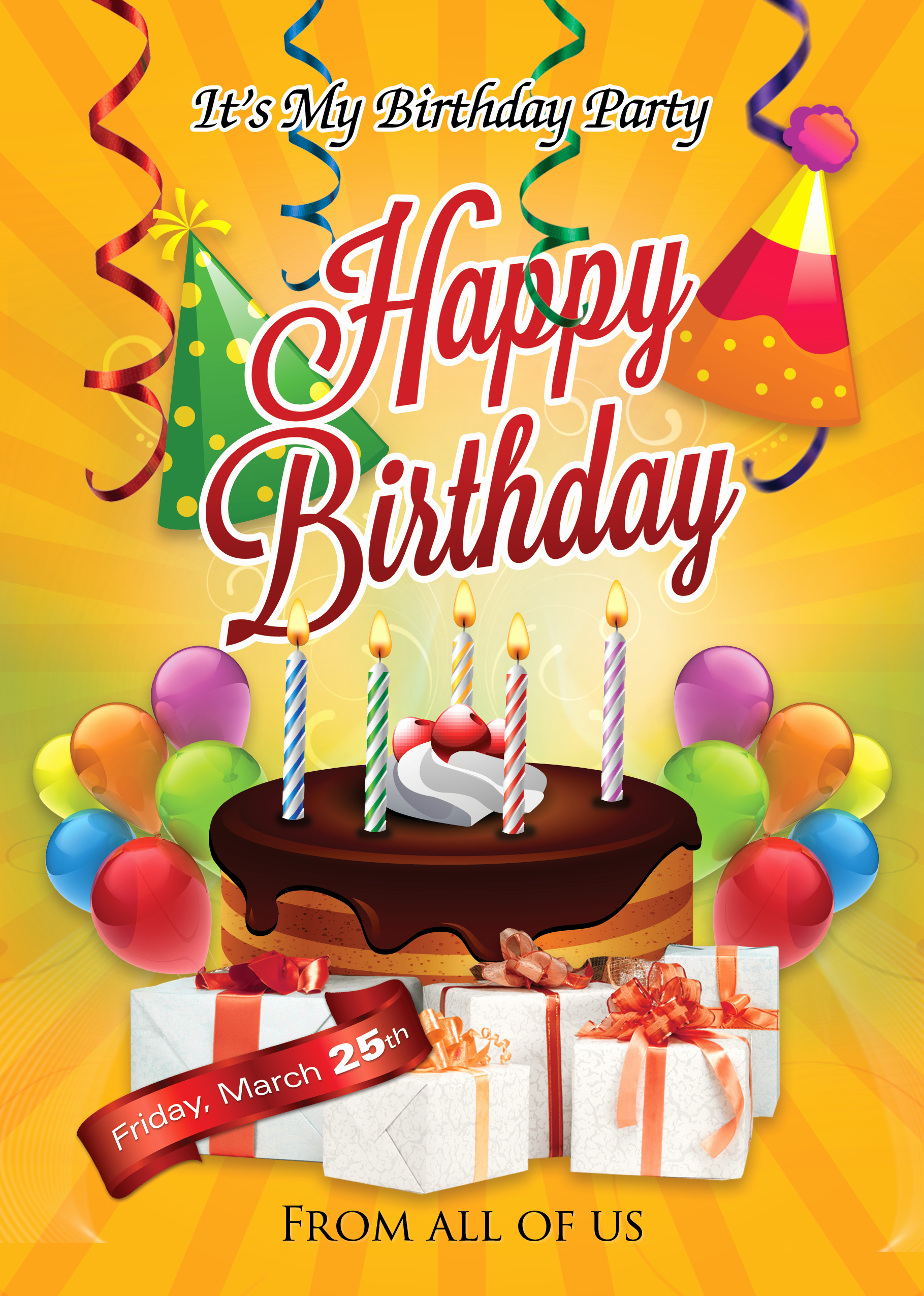 Birthday Flyer Template Shop Cs6 Free Flyer Templates