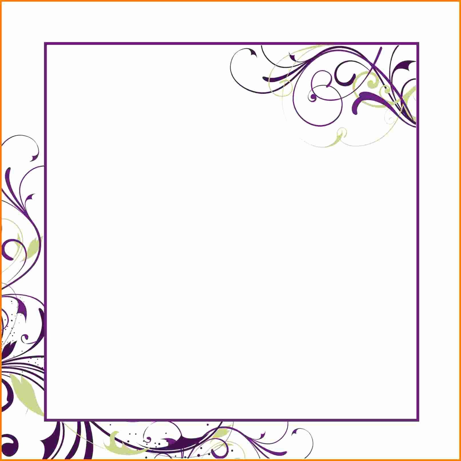 Birthday Invitation Blank Invitation Templates Superb