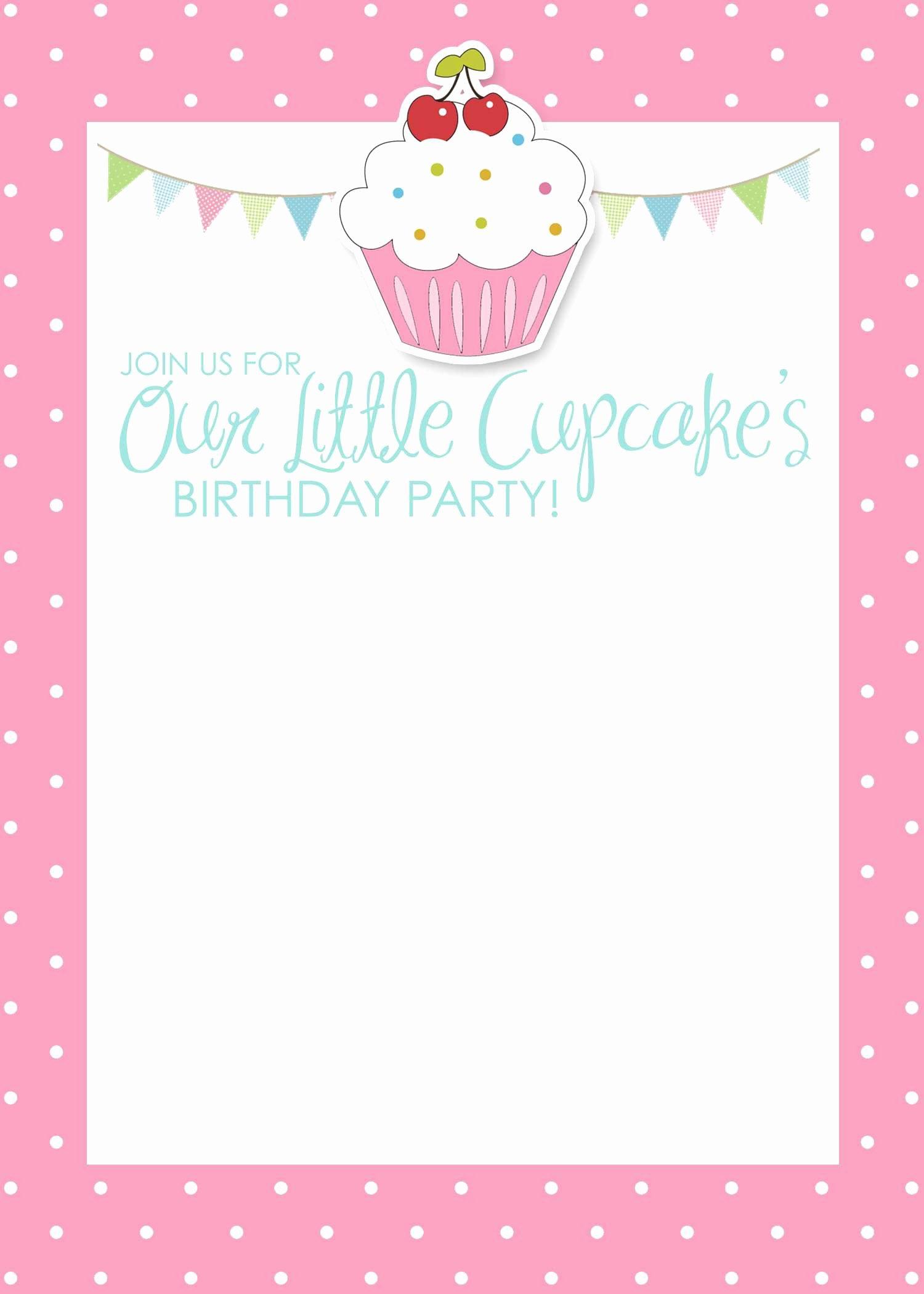 Birthday Invitation Card Template Birthday Invitation