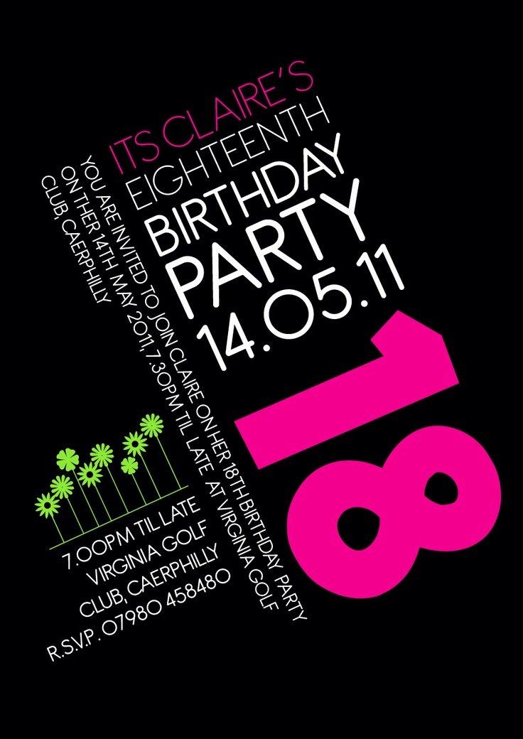 Birthday Invitation Template Free Birthday Invitation