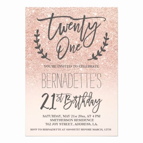 Birthday Invitation Templates 21st Birthday Invitations