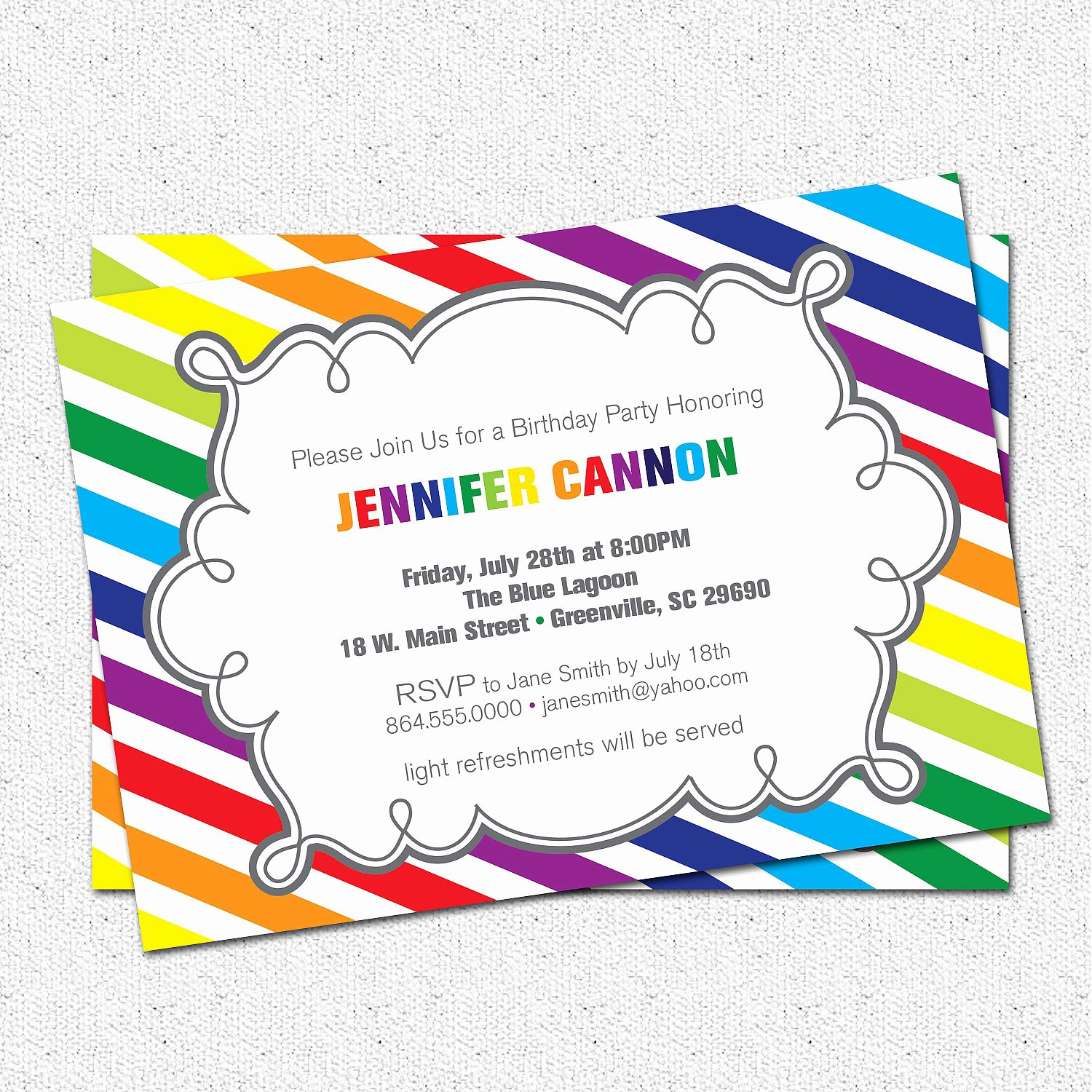 Birthday Invitation Templates Free Printable Birthday