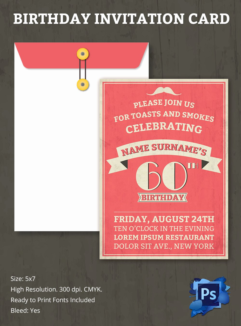 Birthday Invitation Templates Word Free