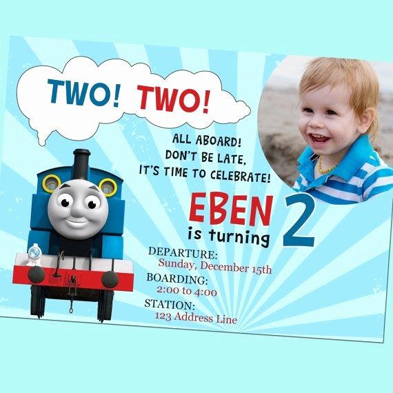 Birthday Invites Best 10 Thomas the Train Birthday