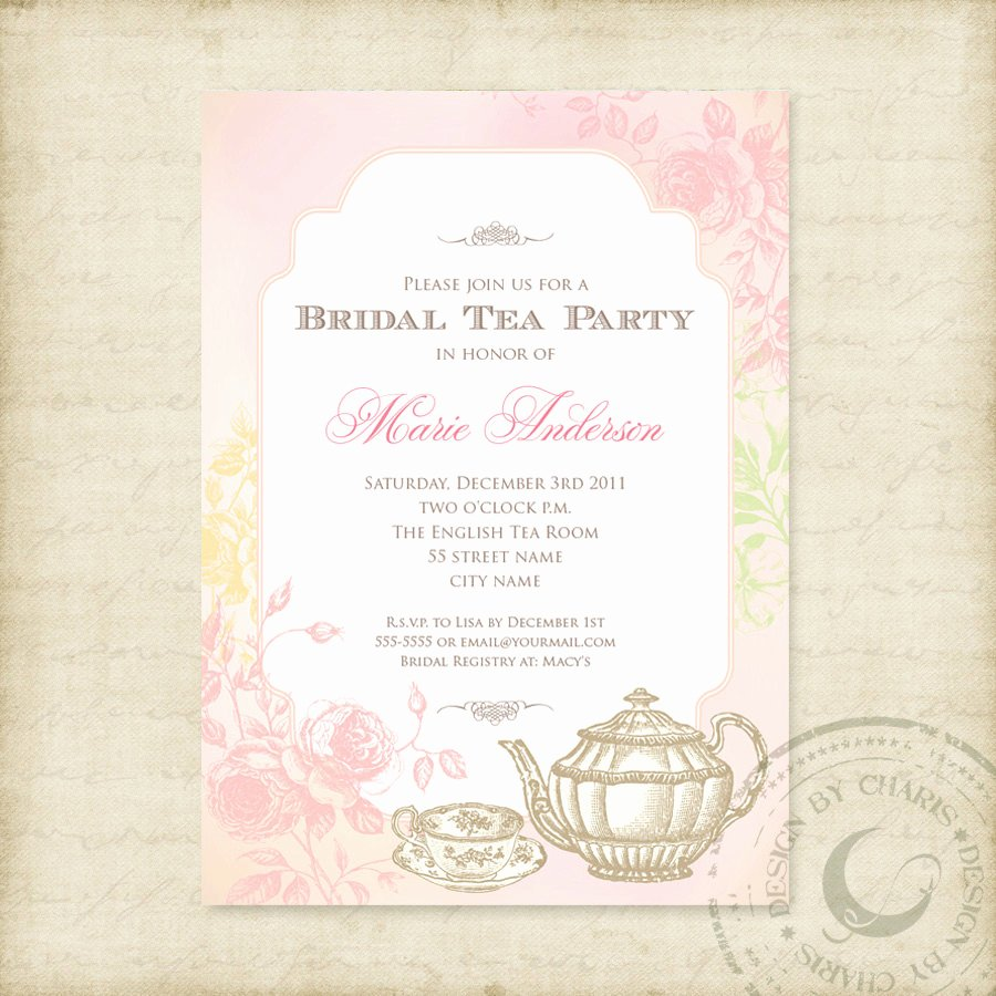 Birthday Invites Best Bridal Tea Party Invitations