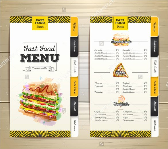 Birthday Menu Templates – 19 Free Psd Eps Indesign