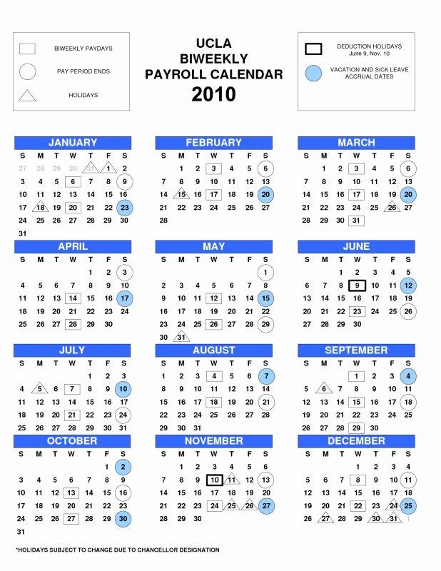 Biweekly Payroll Calendar 2017 Calendar Template 2018