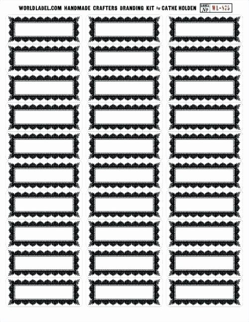 Black and White Printable Labels for School Graduation