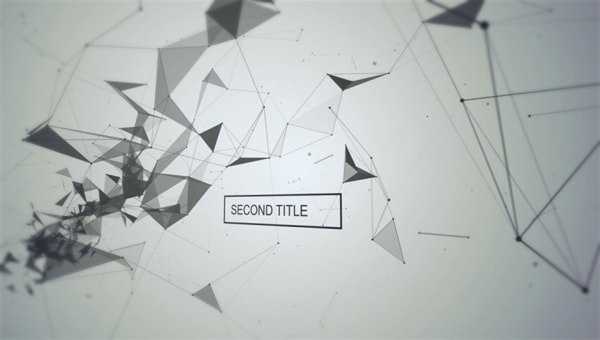 Black and White Title Sequence Free Ae Templates