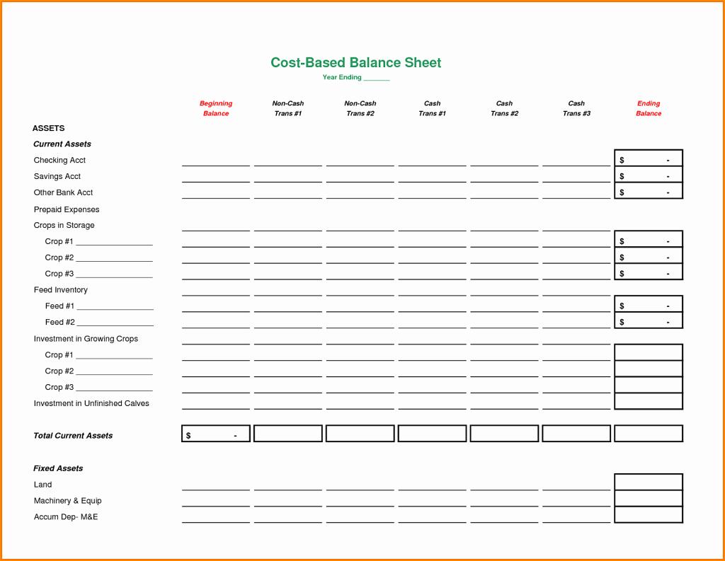 Blank Balance Sheets Sheet Fice Templates Mughals