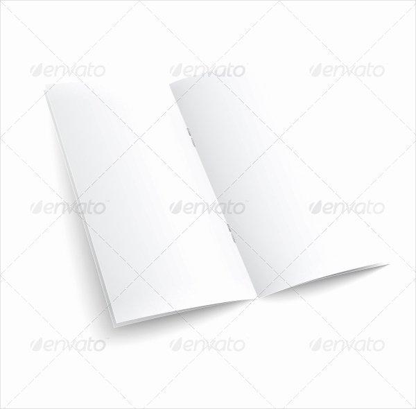 Blank Bi Fold Brochure Templates – 24 Free Psd Ai