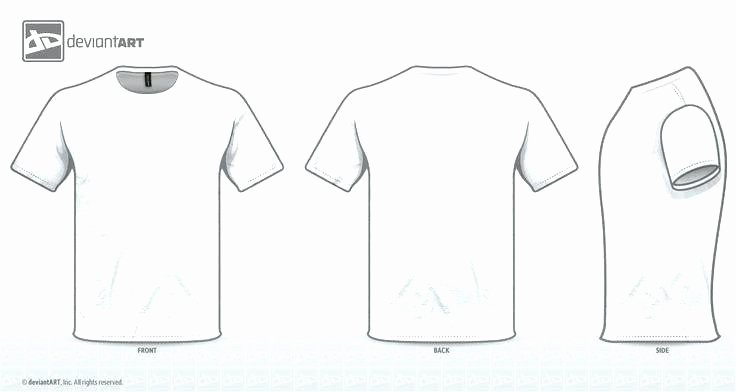 Blank Black T Shirt Template Illustrator Cs6 Templates