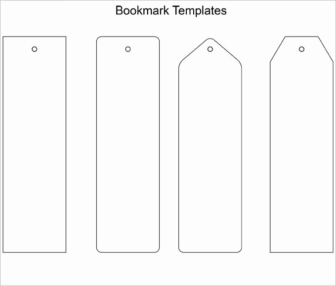 Blank Bookmark Template 135 Free Psd Ai Eps Word