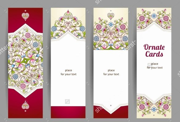 Blank Bookmarks Printable Blank Bookmark Template 135 Free