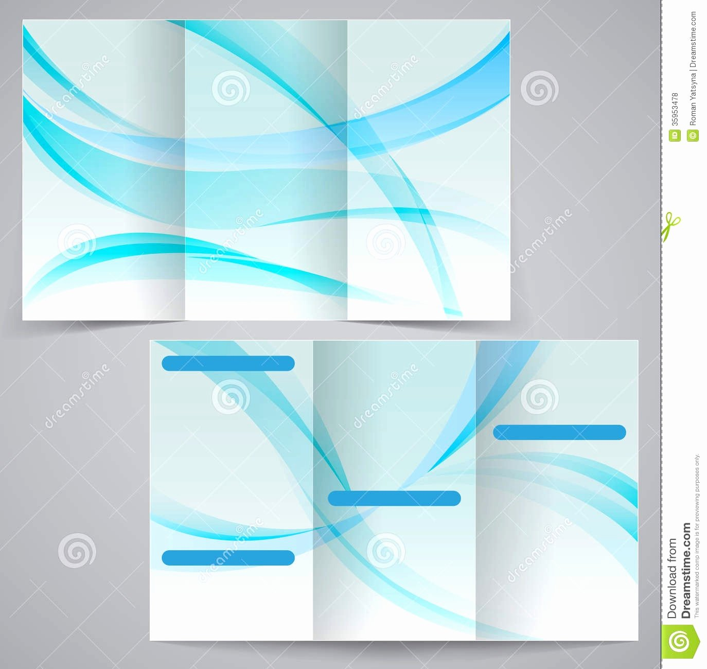 Blank Brochure Template Word Example Mughals