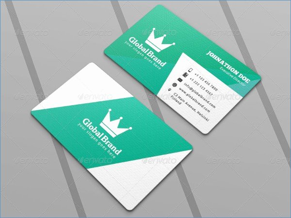 Blank Business Card Template Download