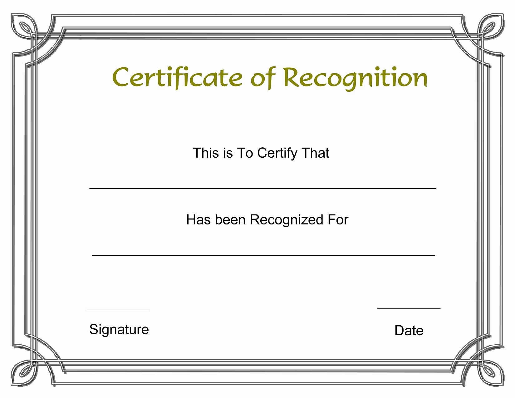 Blank Certificate Templates Free Download Unique Fresh 1st