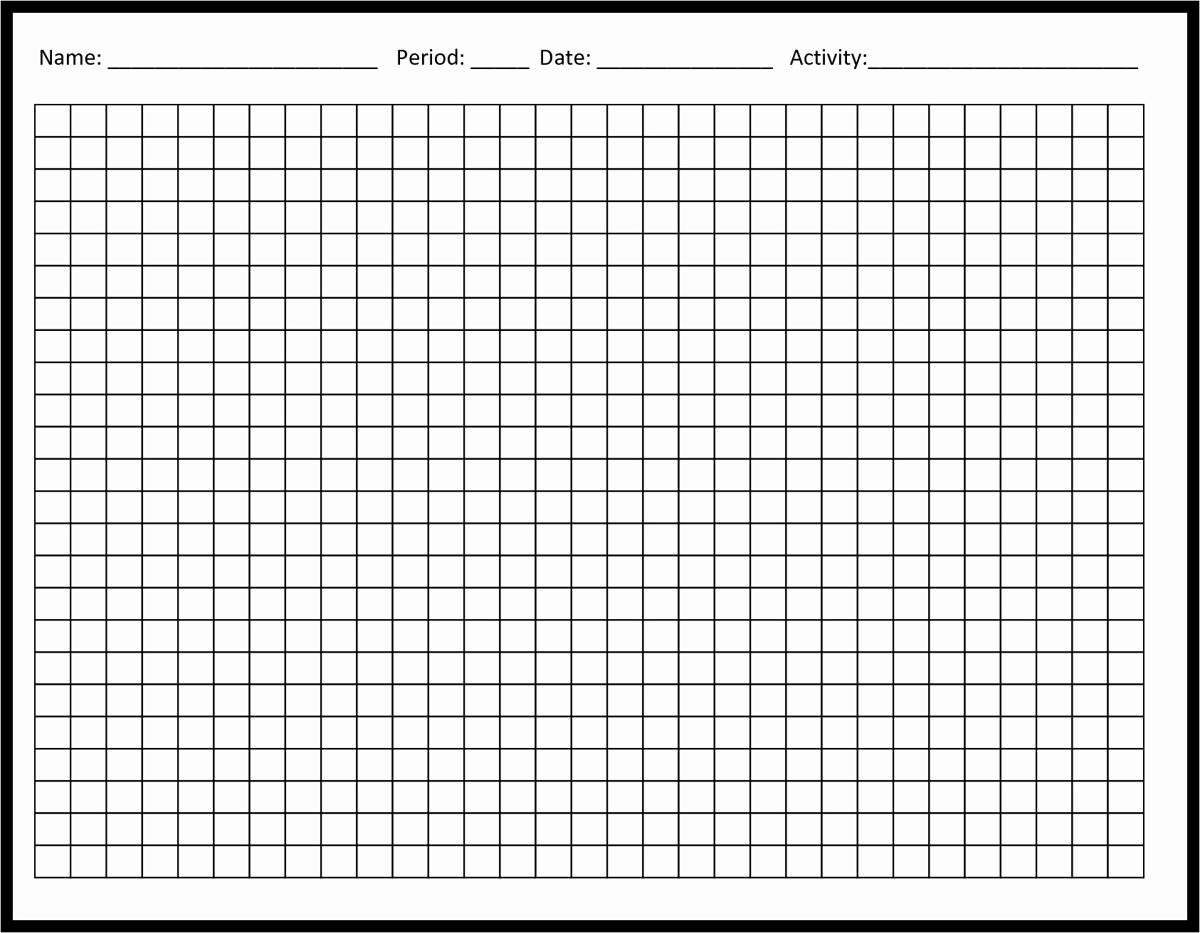 Blank Chart Template Example Mughals