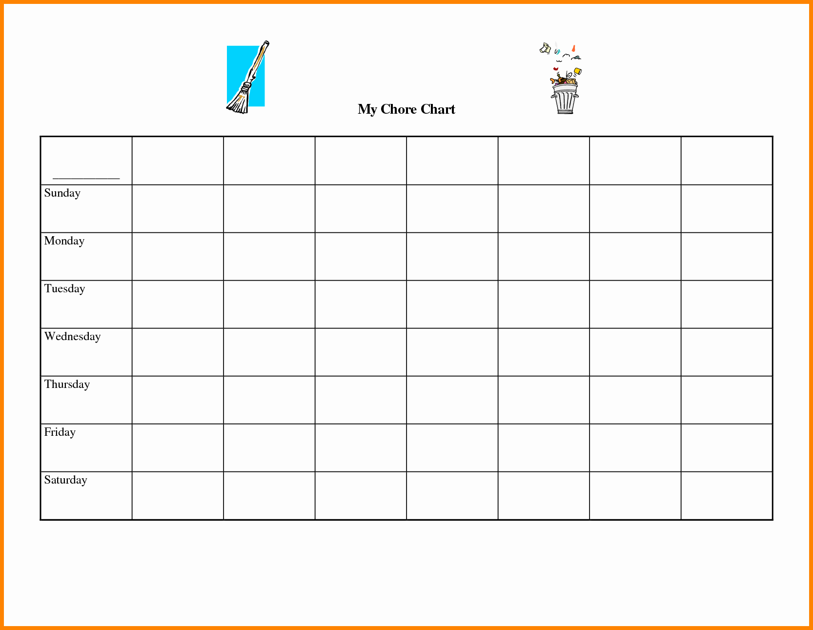 Blank Chart Template Selimtd Bunch Ideas Blank Chart