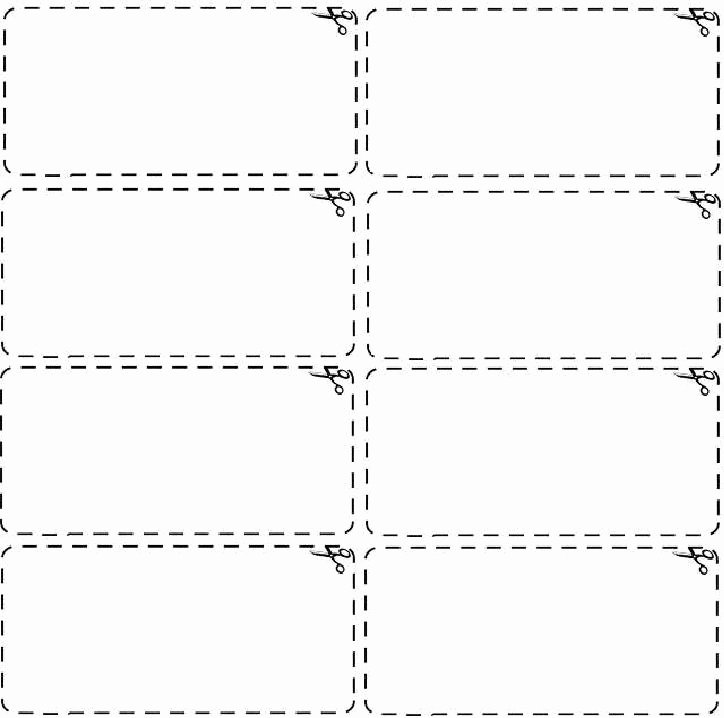 Blank Coupon Template Design Vector with Black and White