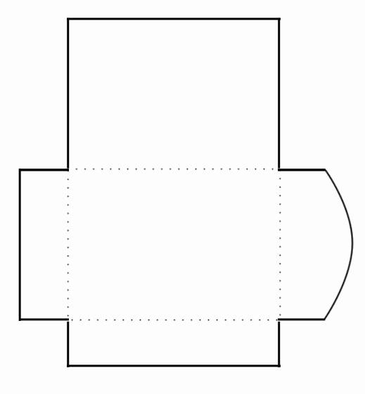 Blank Envelope Printing Template