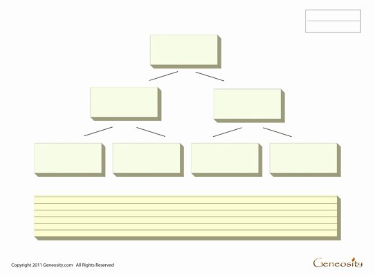 Blank Family Tree form Fillable Pdf form