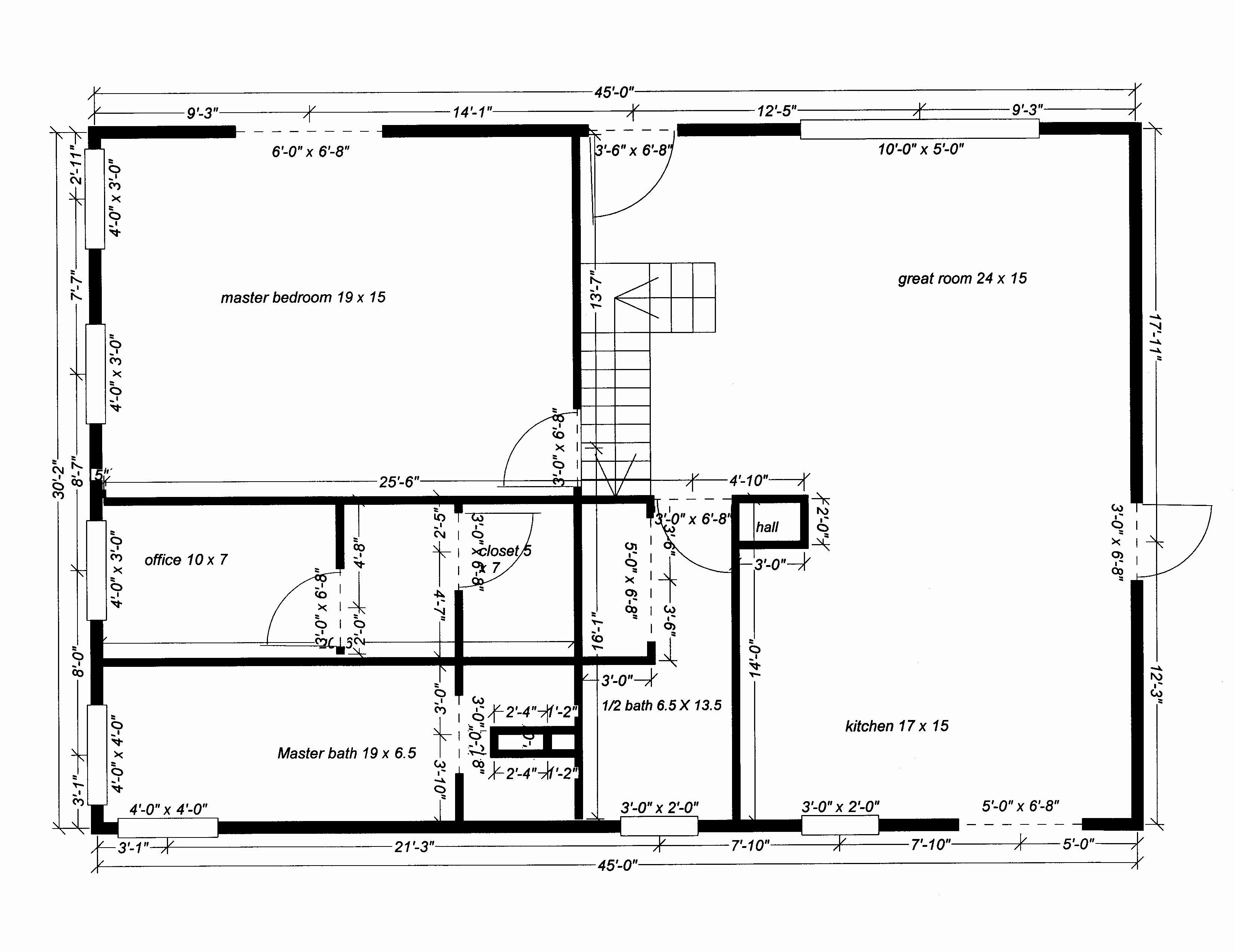 Blank Floor Plan Templates New Blank House Floor Plan