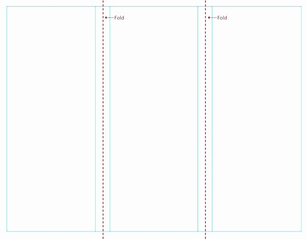 Blank Free Brochure Templates for Word
