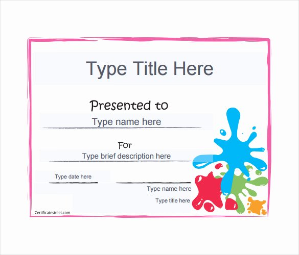 Blank Gift Certificate Template – 13 Free Word Pdf