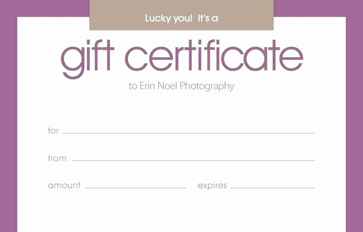 Blank Gift Certificate Template Mughals
