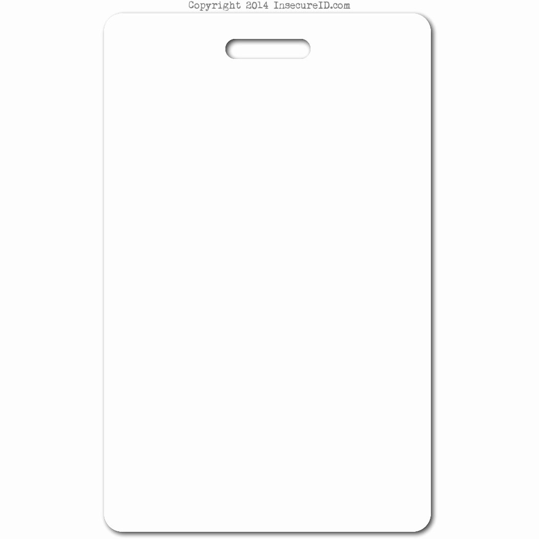 Blank Id Badge Template to Pin On Pinterest