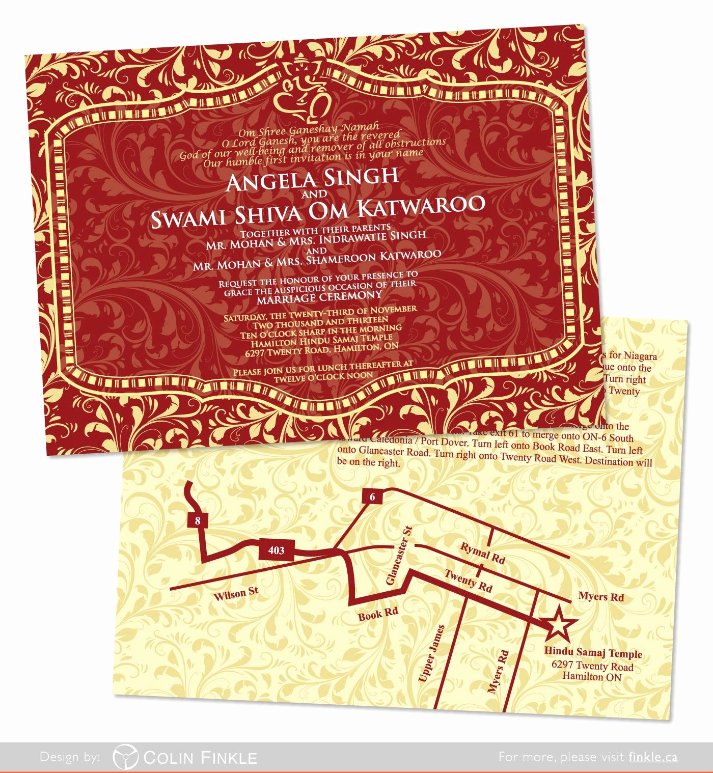 Blank Indian Wedding Invitation Templates Matik for