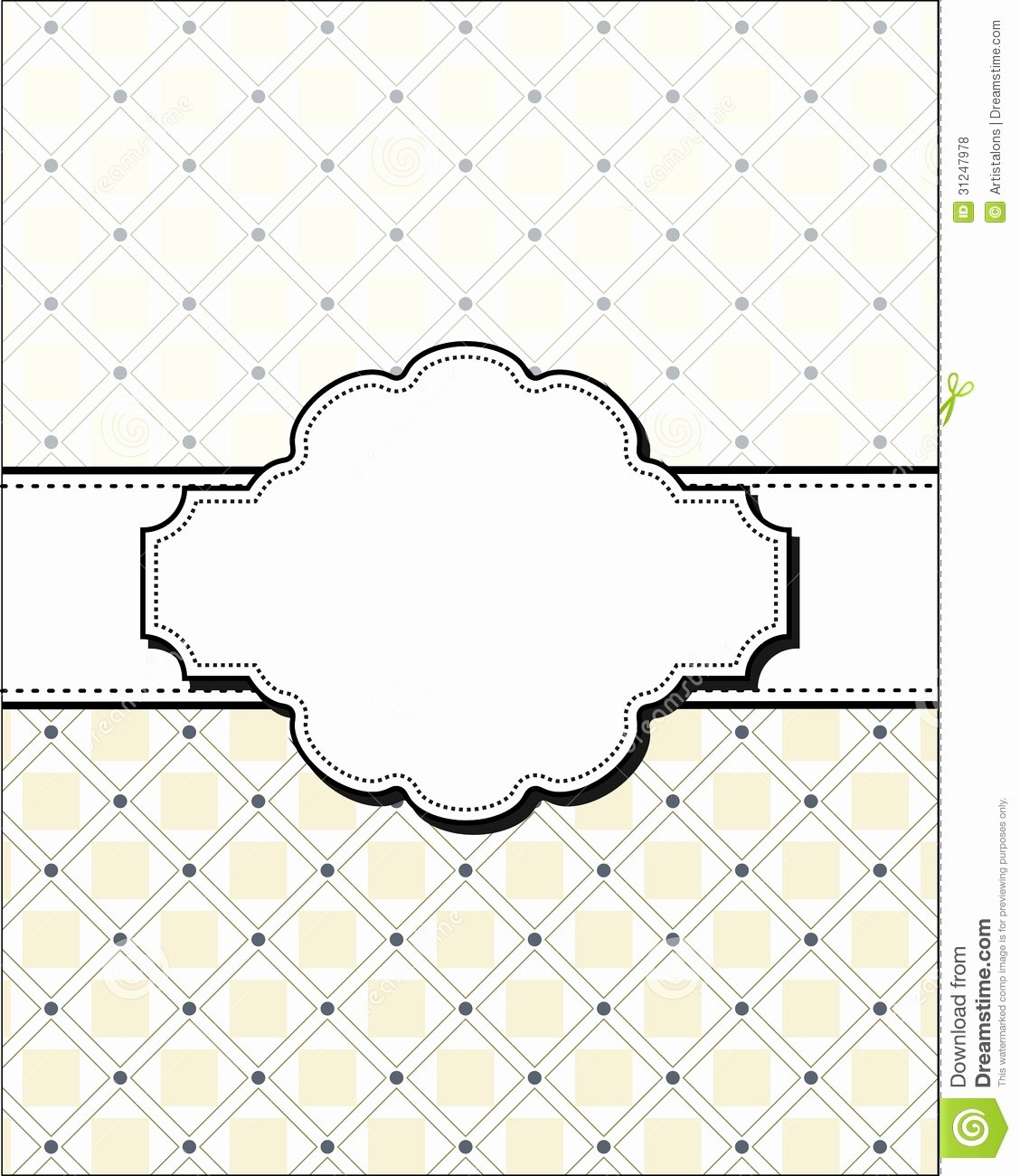 Blank Invitations Template