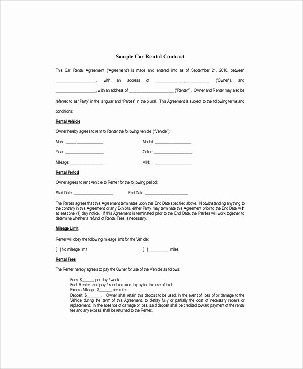 Blank Lease Template 6 Free Word Pdf Documents