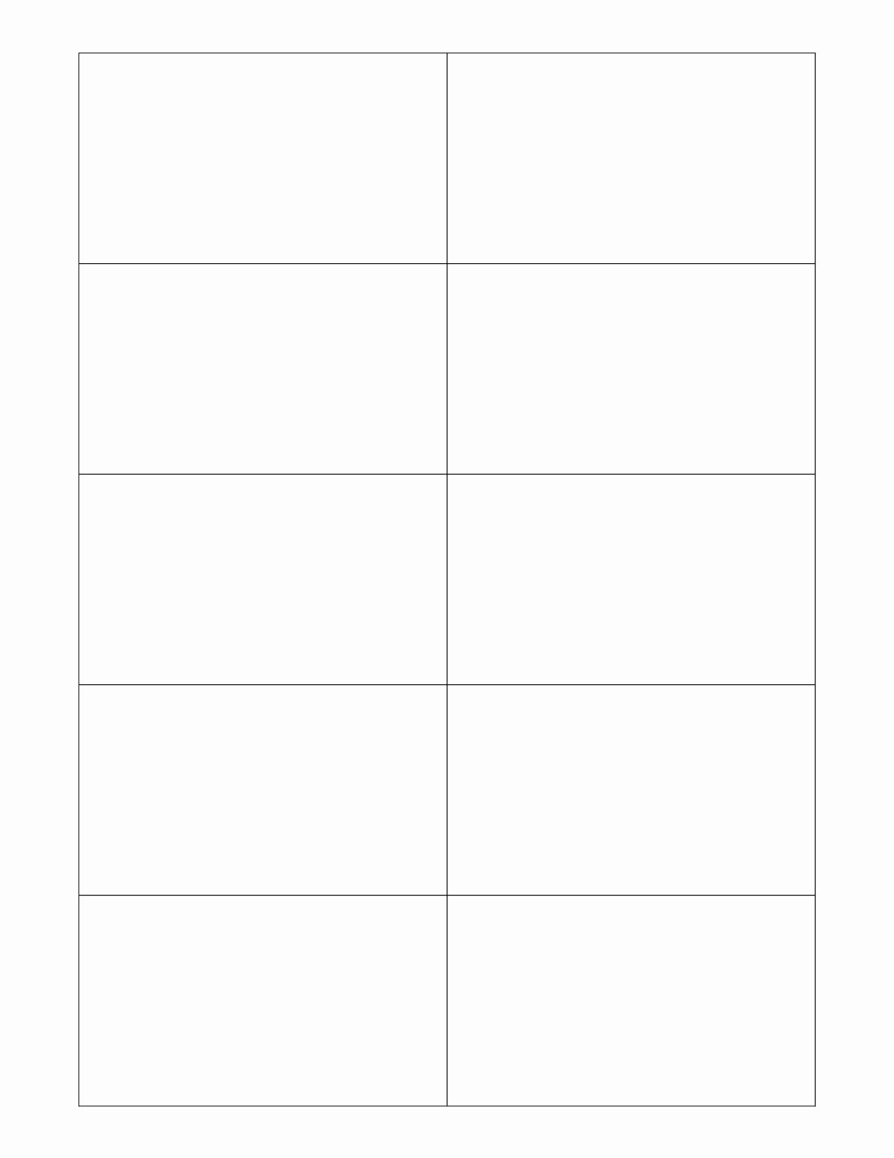 Blank Postcard Template for Word Bing Images