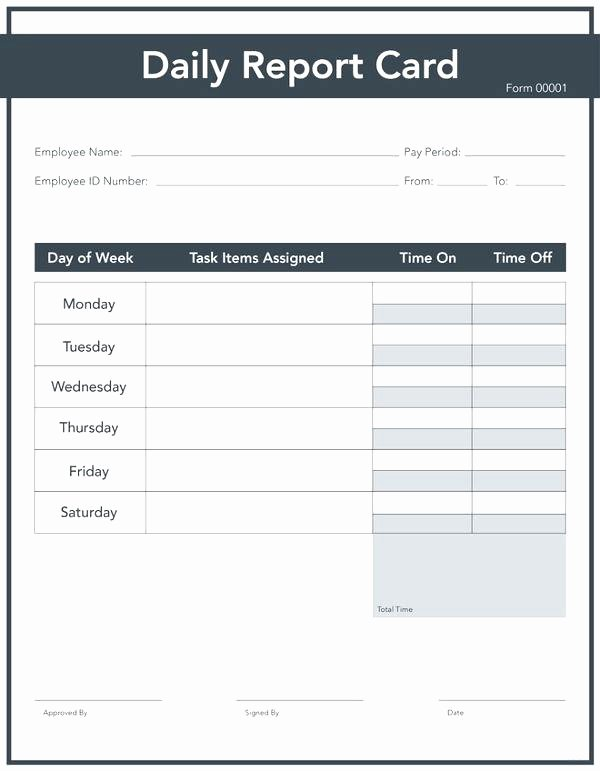 Blank Report Card Template Simple Fake Free – Spitznasfo